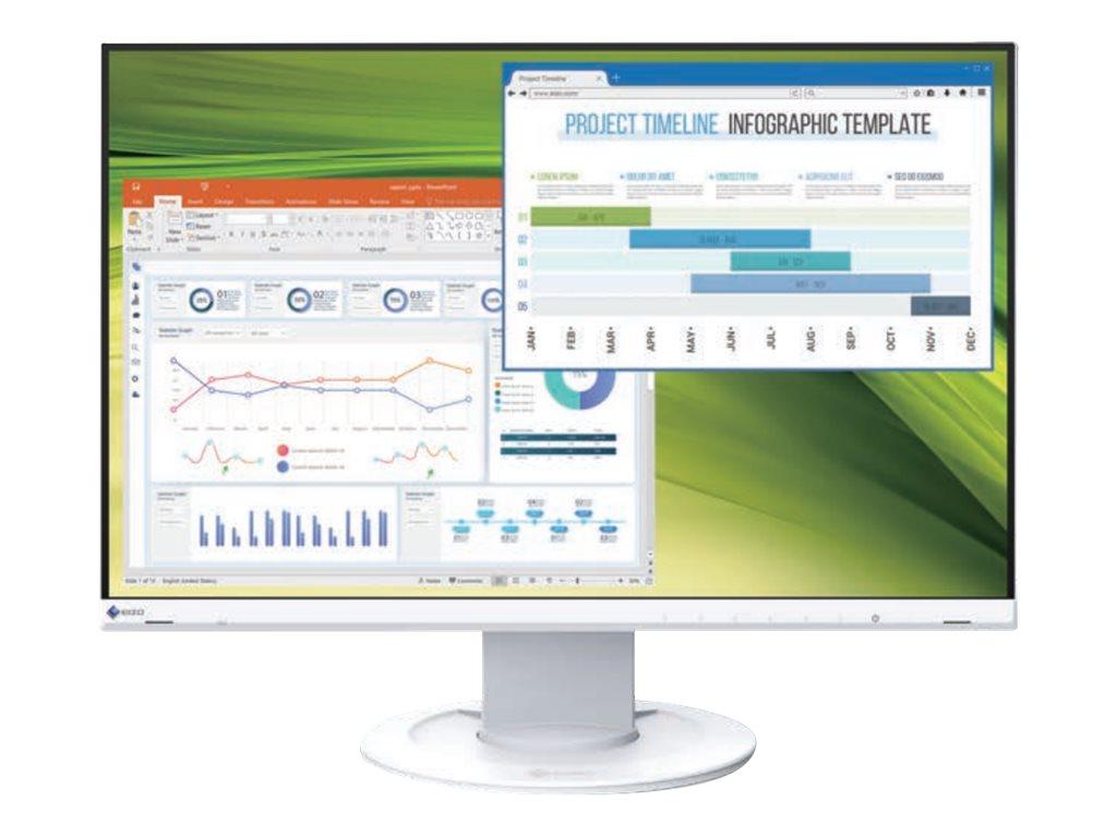 "Vorschau: EIZO FlexScan EV2360-WT - LED-Monitor - 57.2 cm (22.5"")"
