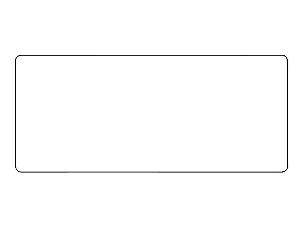 HERMA Selbstklebend - weiß - 95 x 41 mm 2000 Stck. (1 Rolle(n) x 2000) Etiketten