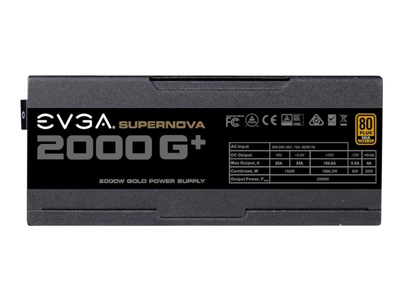 EVGA SuperNOVA 2000 G1+ - Netzteil (intern) - ATX / EPS