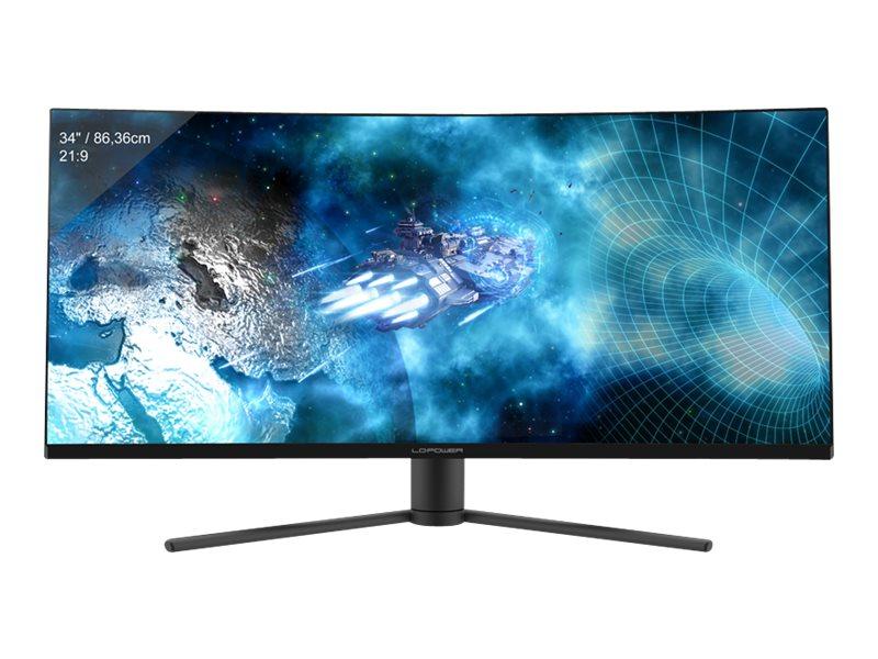 "LC Power LC-M34-UWQHD-144-C-V2 - LED-Monitor - gebogen - 86.4 cm (34"")"