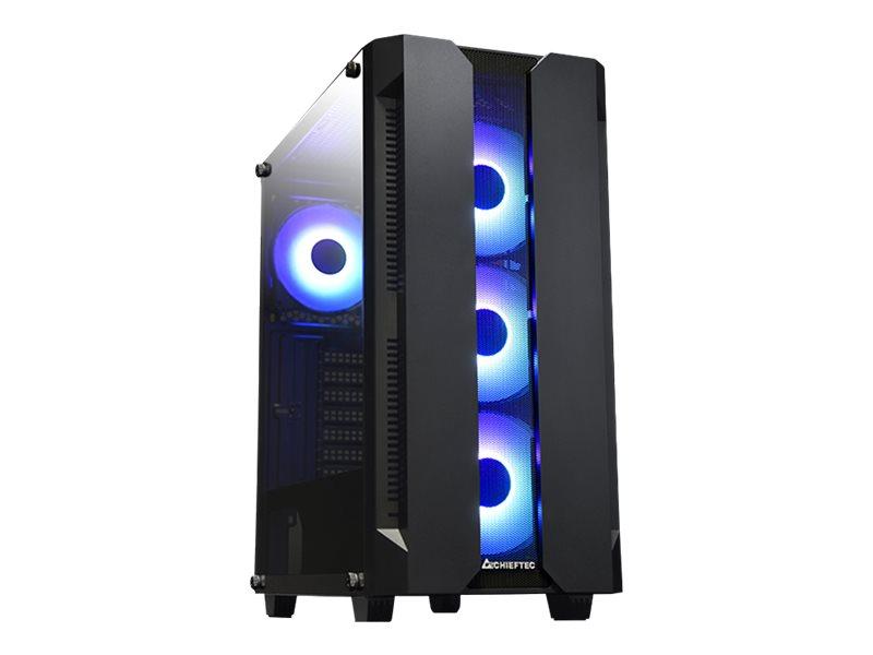 Chieftec Gamer Series Hunter - Tower - ohne Netzteil (ATX)