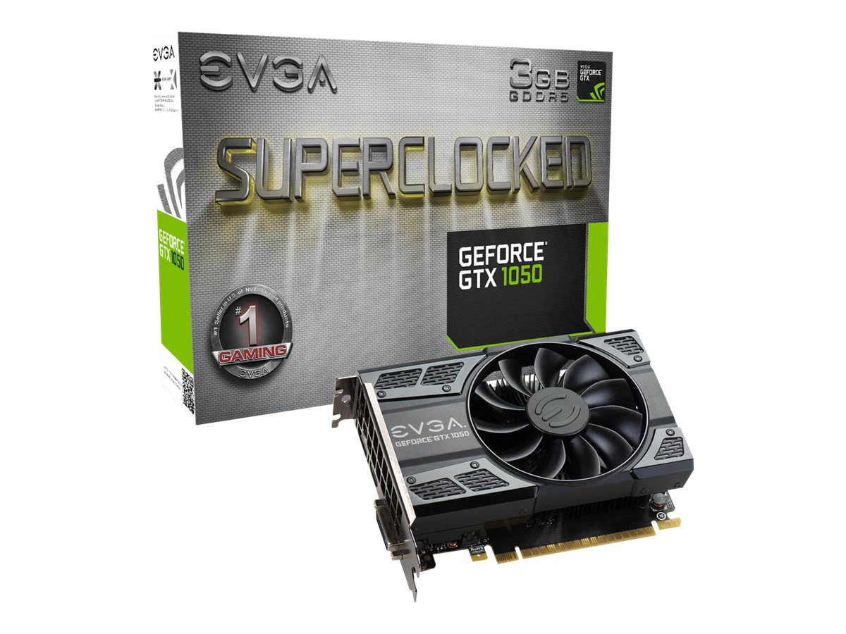 EVGA GeForce GTX 1050 SC Gaming - Grafikkarten