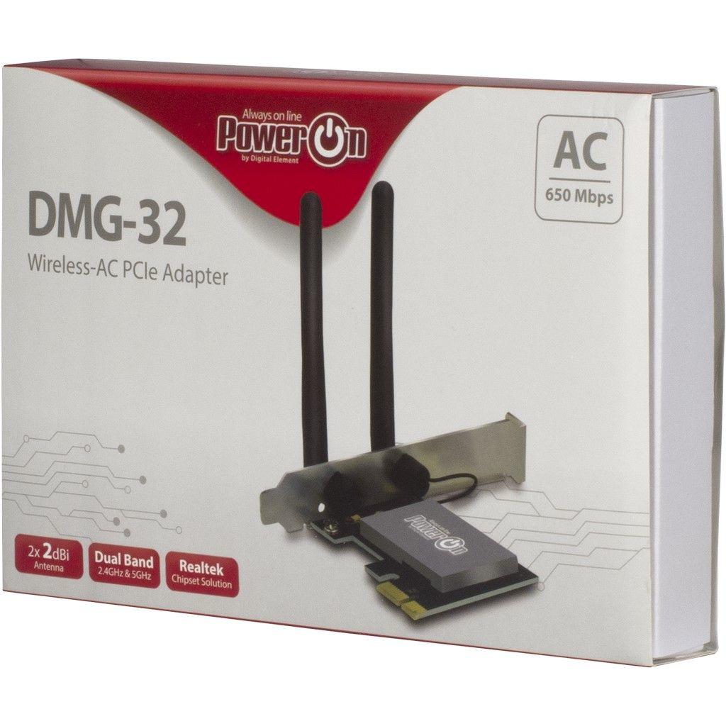 Inter-Tech DMG-32 - Netzwerkadapter - PCIe