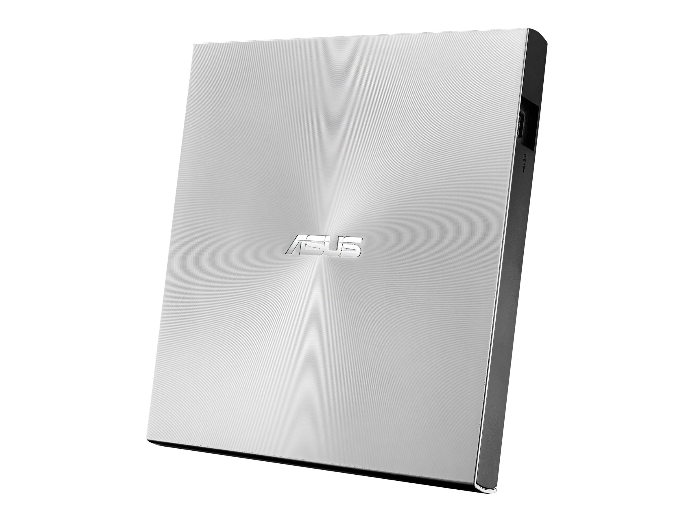 ASUS ZenDrive U7M SDRW-08U7M-U Laufwerk - DVD±RW (±R DL) / DVD-RAM - 8x/8x/5x - USB 2.0 - extern - Silber