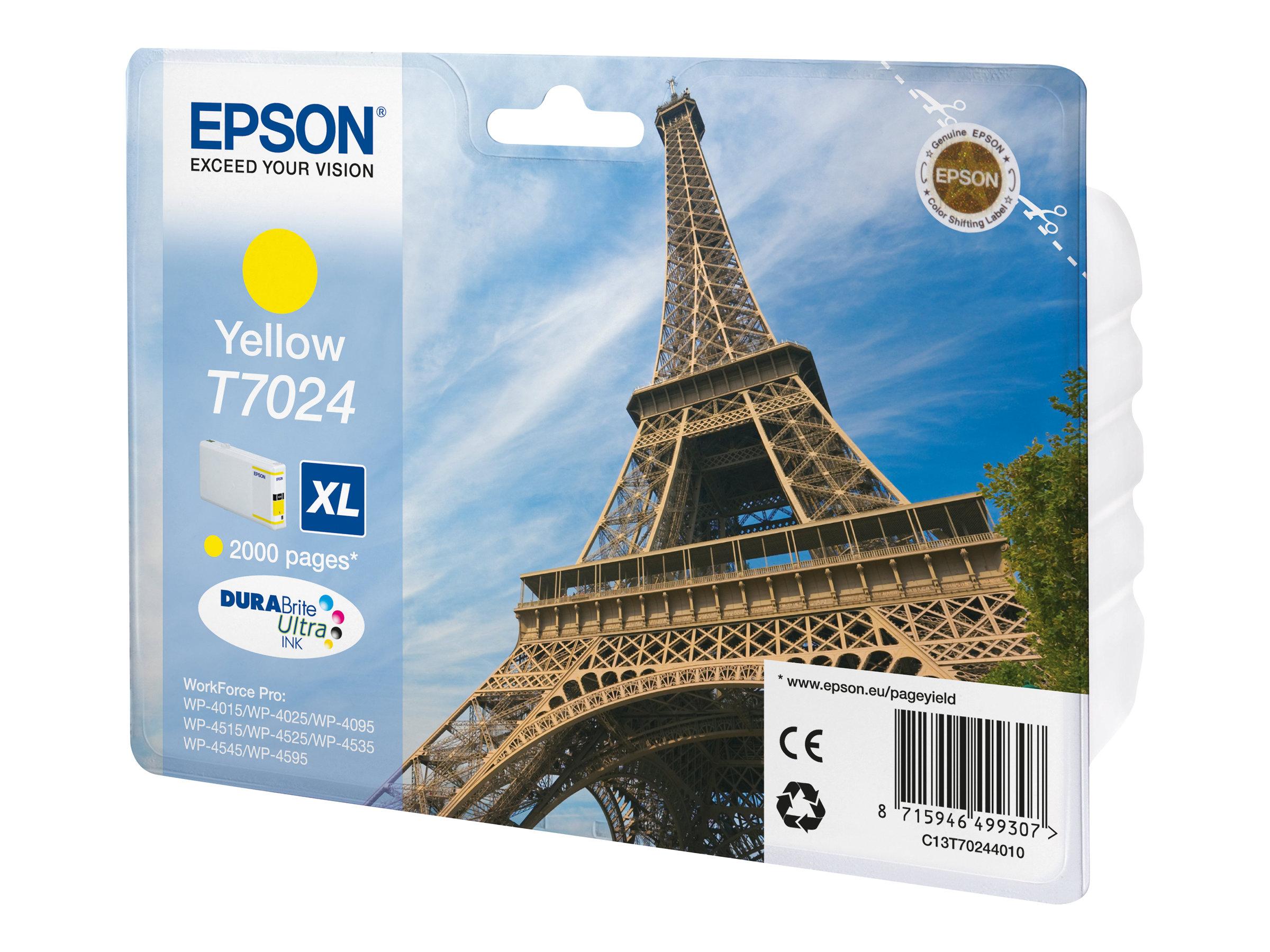 Epson T7024 - 21.3 ml - Größe XL - Gelb - Original