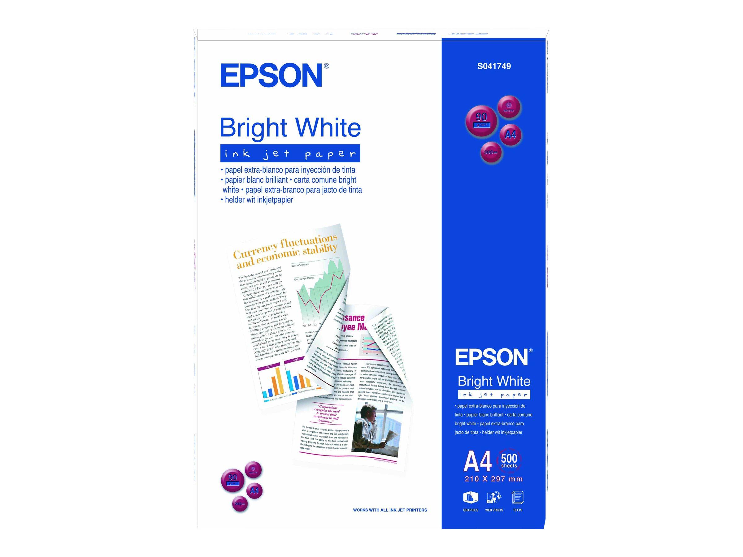 Epson Bright White - A4 (210 x 297 mm)