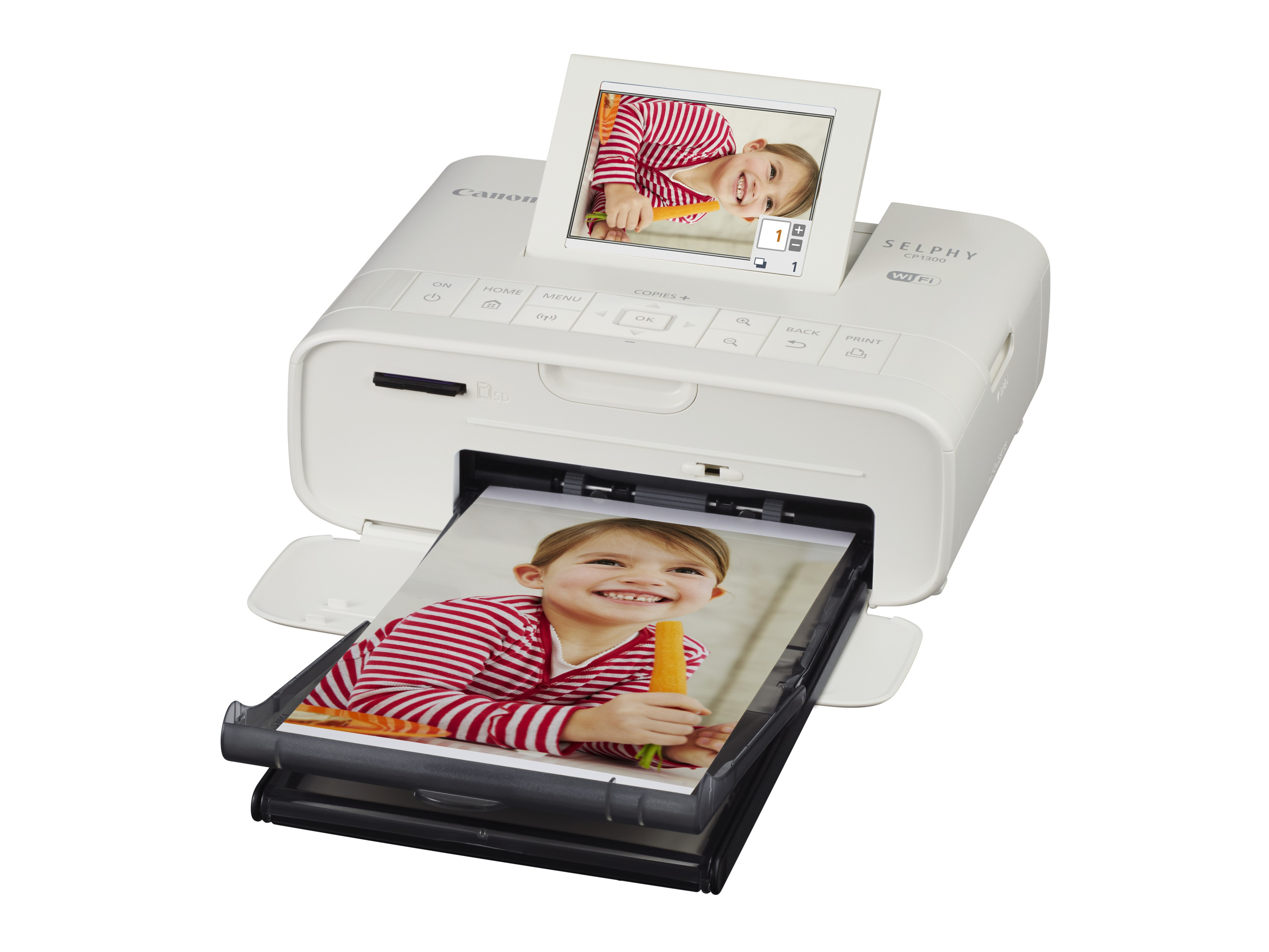 Canon SELPHY CP1300 - Farbstoffsublimation - 300 x 300 DPI - 4