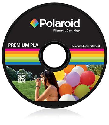 Polaroid Schwarz - 1 kg - Filament-Kartusche elastisch (3D)