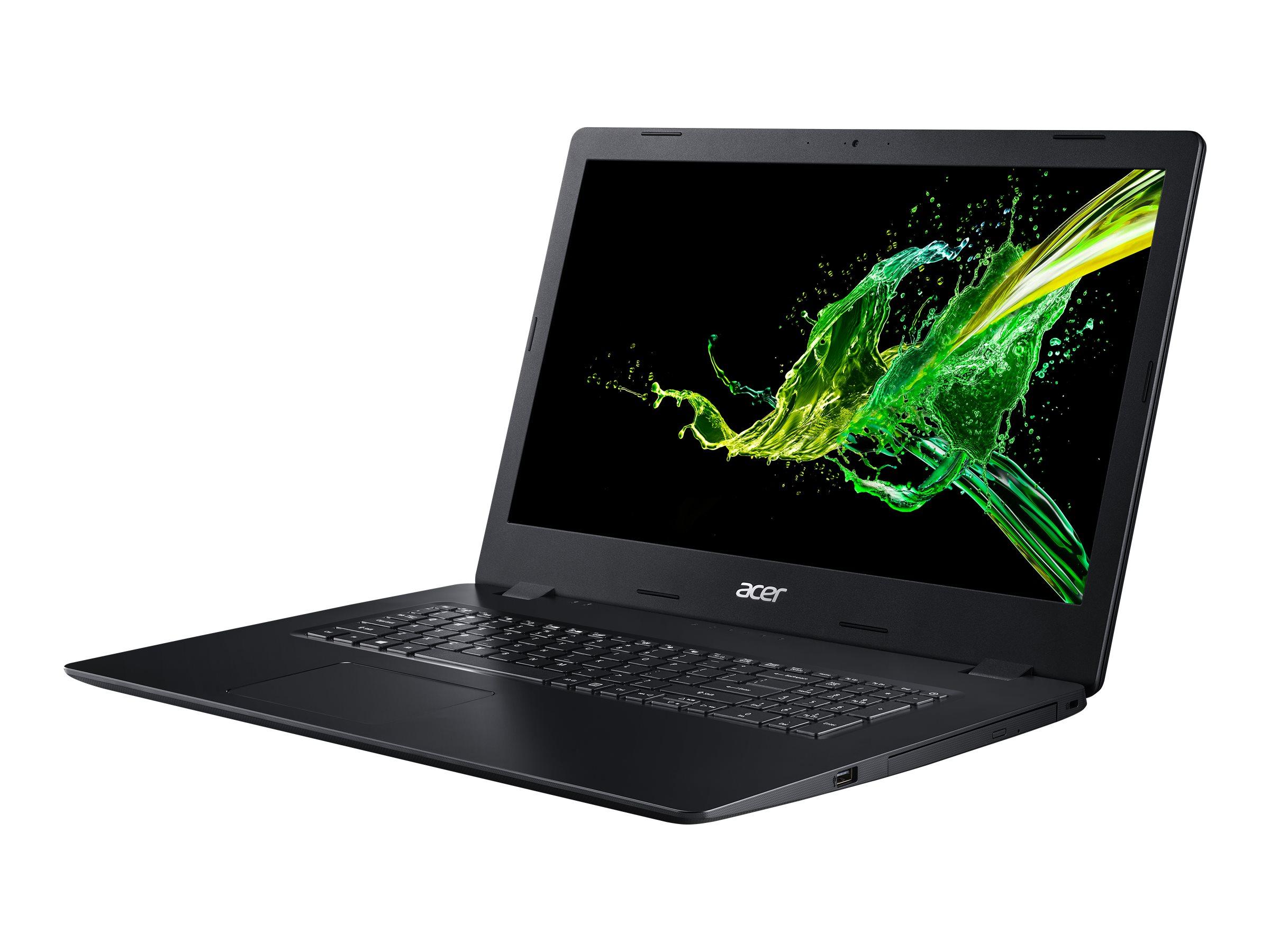 Acer Aspire 3 A317-51G-55R7 - Core i5 10210U / 1.6 GHz - Win 10 Home 64-Bit - 8 GB RAM - 1.024 TB SSD - DVD-Writer - 43.