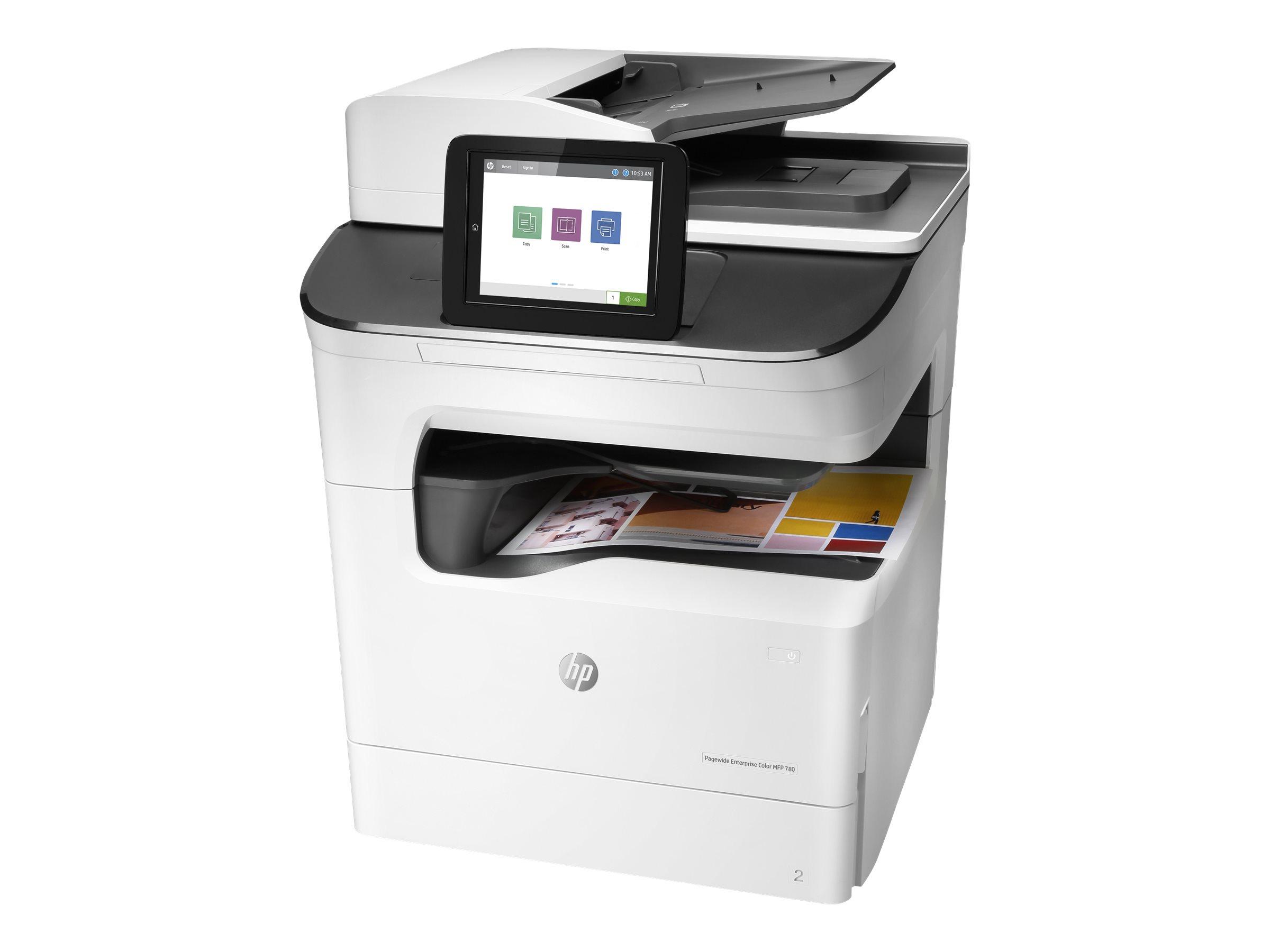 HP PageWide Enterprise Color MFP 780dns - Multifunktionsdrucker - Farbe - seitenbreite Palette - 297 x 432 mm (Original)