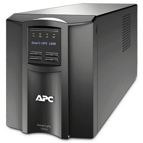APC Smart-UPS Line-Interaktiv 1000VA 8AC-Ausgänge Tower Schwarz Unterbrechungsfreie Stromversorgung (UPS)