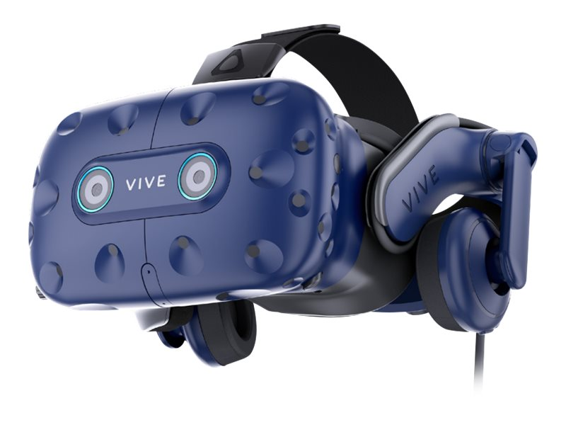HTC VIVE Pro Eye - 3D virtual reality system - tragbar - 2880 x 1600 - DisplayPort - Kopfhörer (abnehmbar)