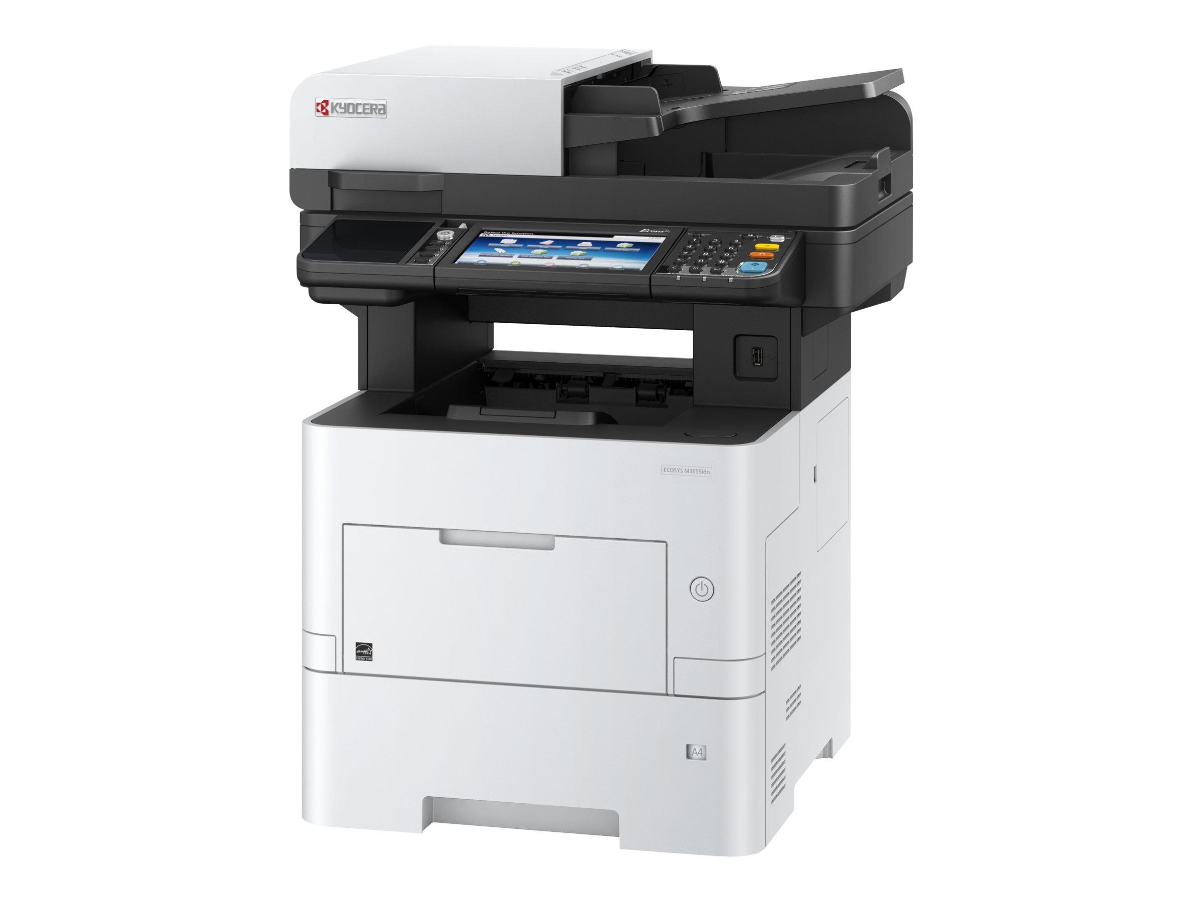 Kyocera ECOSYS M3655idn - Multifunktionsdrucker - s/w - Laser - A4 (210 x 297 mm)