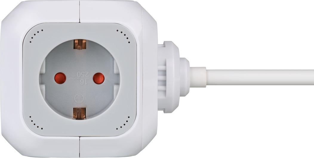 Brennenstuhl 1150090 - 1,4 m - 4 AC-Ausgänge - Indoor - IP20 - Weiß - 230 V