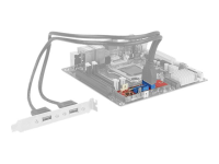 Converter M.2 Key B+M male > 2 x USB 3.0 Pin Header - USB-Adapter - M.2 Card