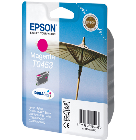 Epson T0453 - Druckerpatrone - 1 x pigmentiertes Magenta