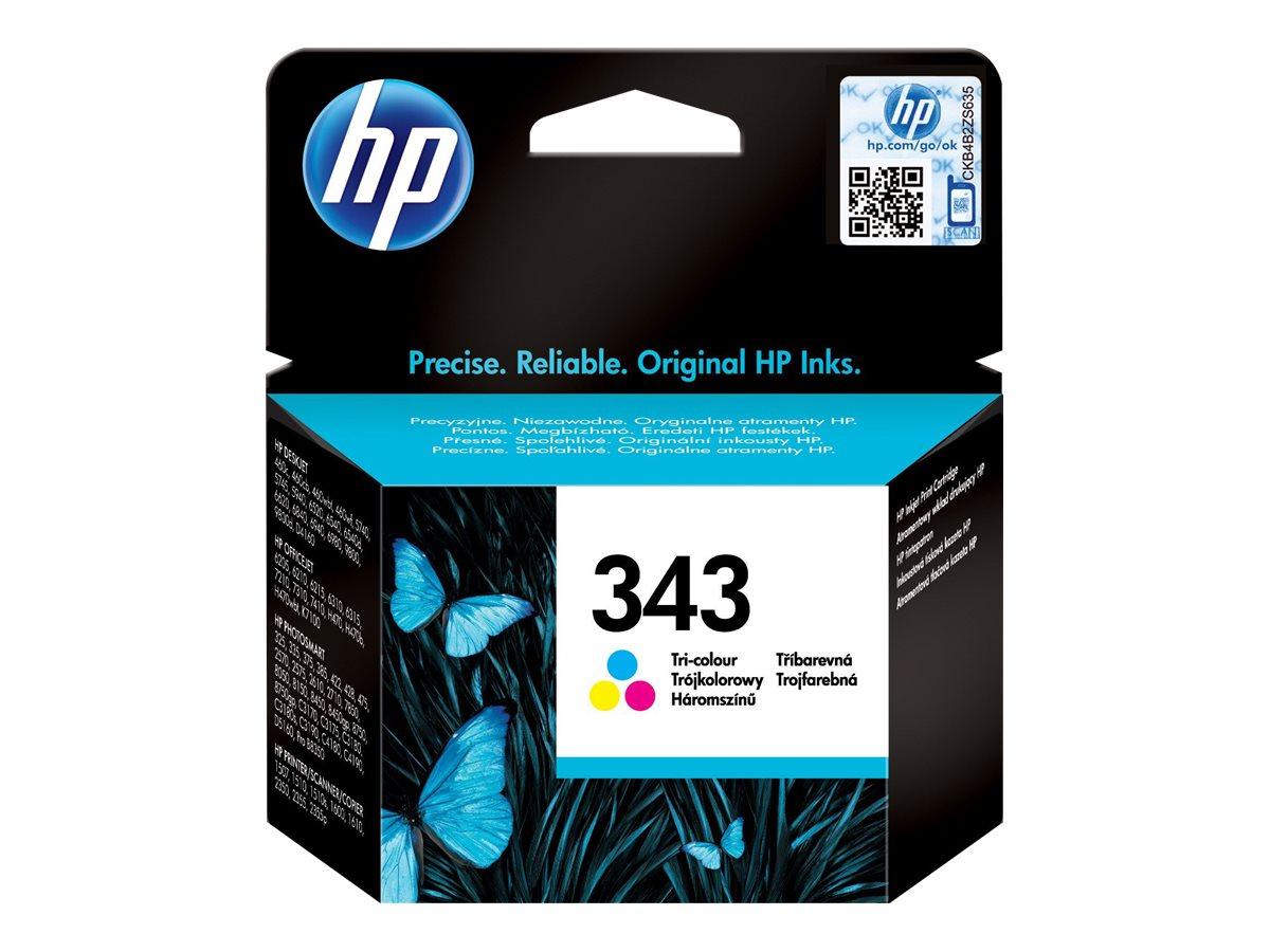 HP 343 - Farbe (Cyan, Magenta, Gelb) - Original