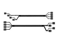 Oculink Cable Kit A2U8PSWCXCXK2 OCuLink SFF-8611 Schwarz