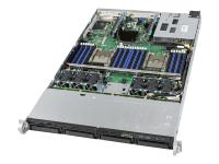 R1304WFTYS Server-Barebone C624 Buchse P 1U Schwarz - Silber