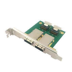 2-port SAS 6G Eingebaut SAS Schnittstellenkarte/Adapter