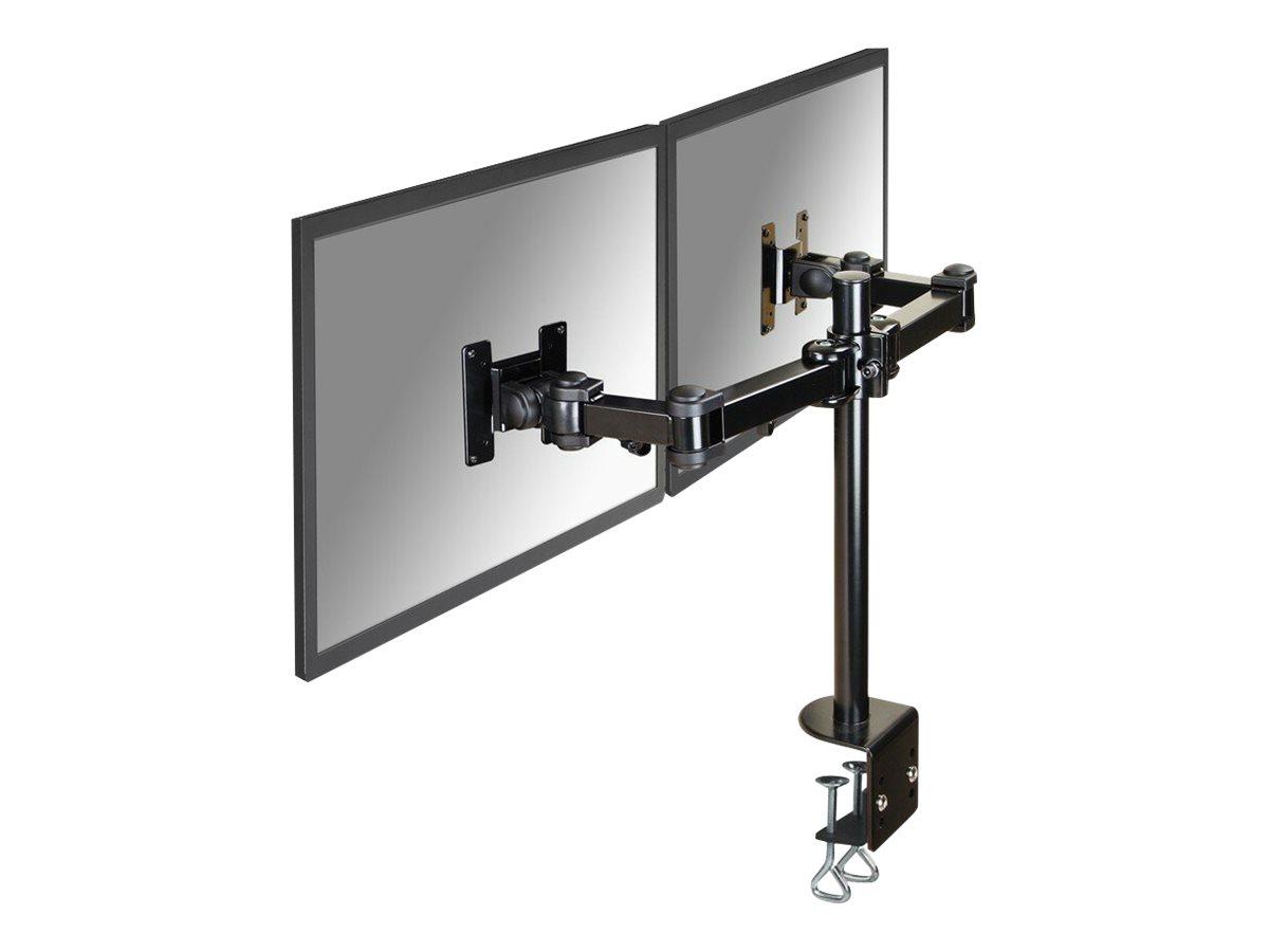 NewStar Full Motion Dual Desk Mount (clamp) FPMA-D960D - Tischhalterung für 2 LCD-Displays (einstellbarer Arm)