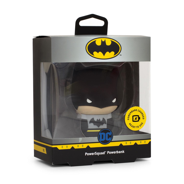 "Thumbs Up PowerSquad - Powerbank DC ""Batman"" - DC Comics - Schwarz - Grau - Handy/Smartphone - Lithium-Ion (Li-Ion) - 2500 mAh - USB - 4 h"