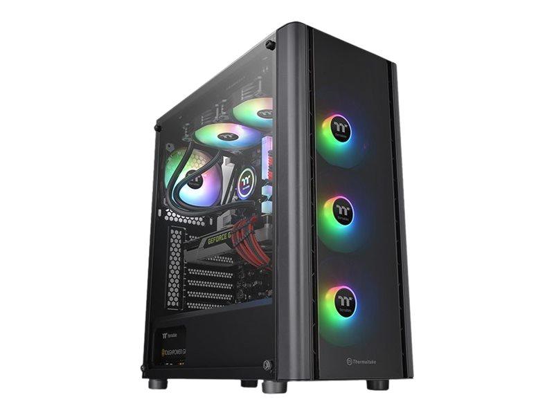 Thermaltake V Series V250 TG ARGB - Tower - ATX - ohne Netzteil (PS/2)