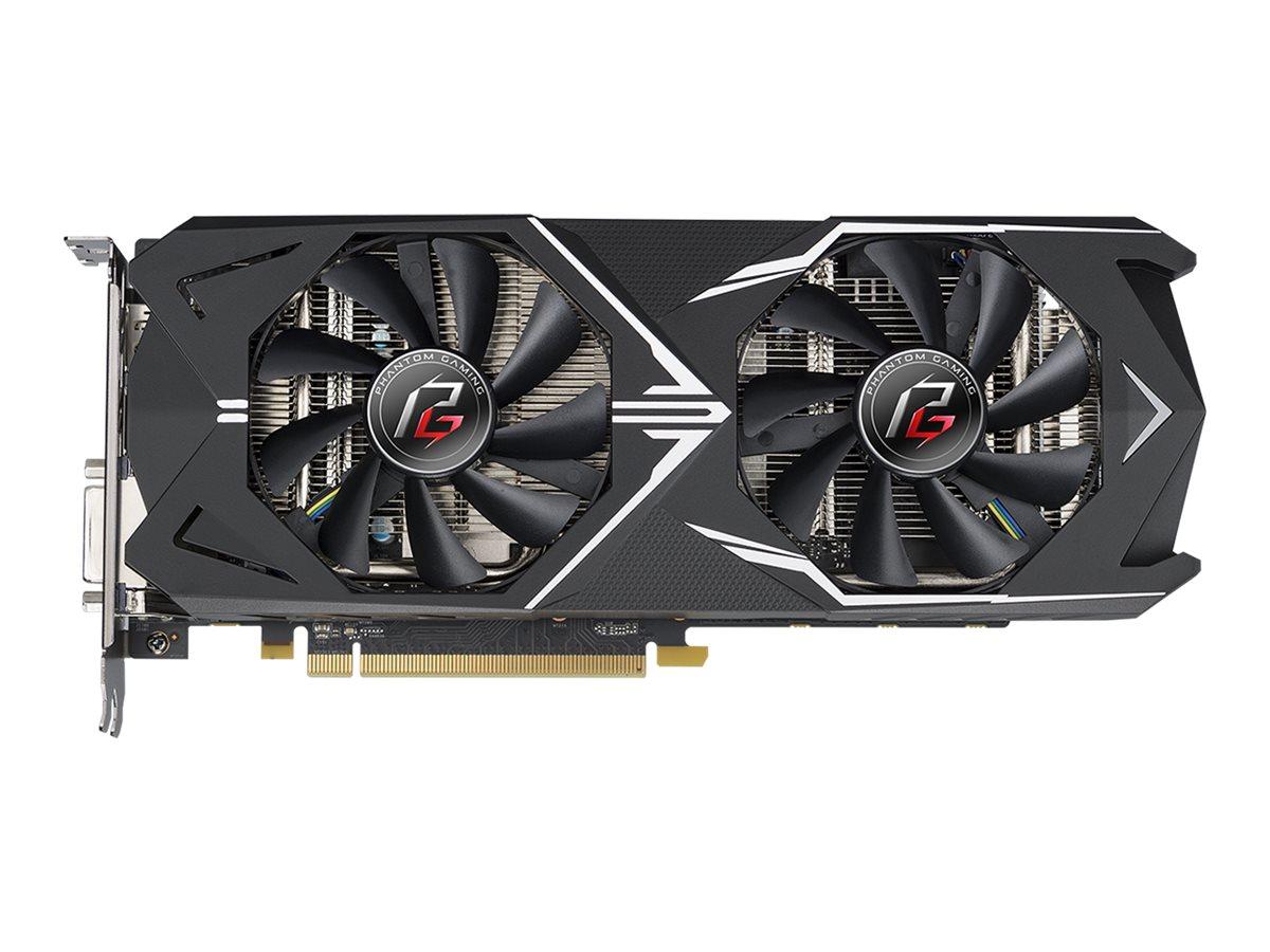 ASRock Phantom Gaming X Radeon RX580 8G OC - Grafikkarten