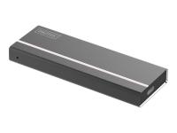 Mini-Gehäuse für M.2 NVMe PCIe SSD , USB 3.1 Type-C
