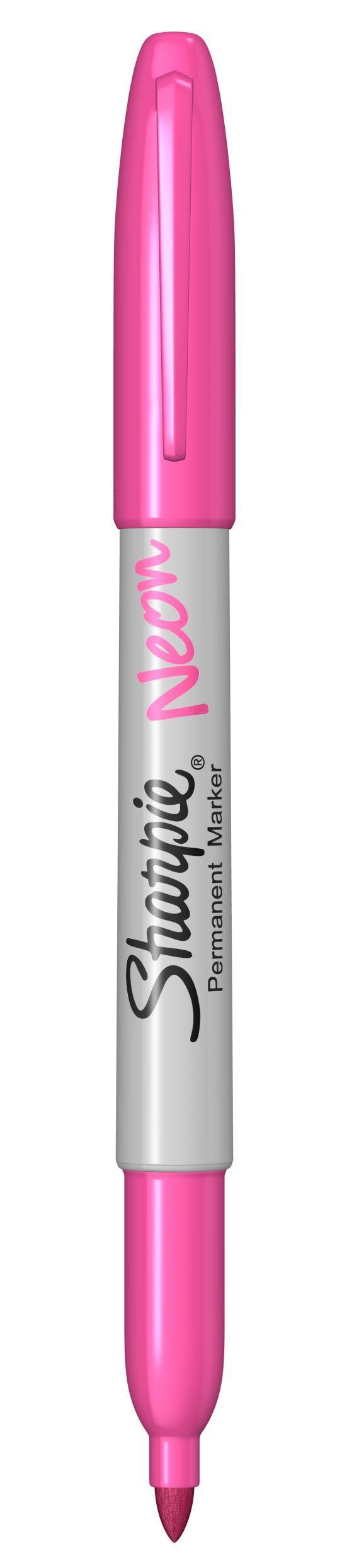Sharpie 1888992 - Pink - Rundspitze - Pink - Weiß - Polycarbonat - Fein - 1,4 mm