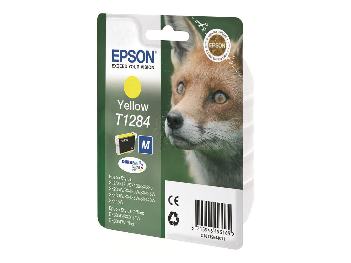 Epson T1284 - 3.5 ml - Gelb - Original - Blisterverpackung