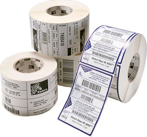 Zebra Z-Perform 1000D - Papier - seidig - permanenter Klebstoff - hochweiß - 70 x 32 mm 50400 Rolle(n) (24 Rolle(n)
