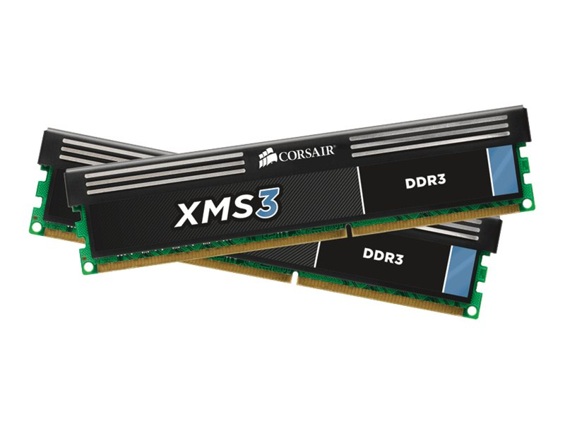Corsair XMS3 - DDR3 - kit - 8 GB: 2 x 4 GB - DIMM 240-PIN