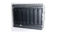"8x2.5"" Dual Port SAS Hot Swap Drive Bay Kit AUP8X25S3DPDK 2.5"" Carrier panel Schwarz - Edelstahl"