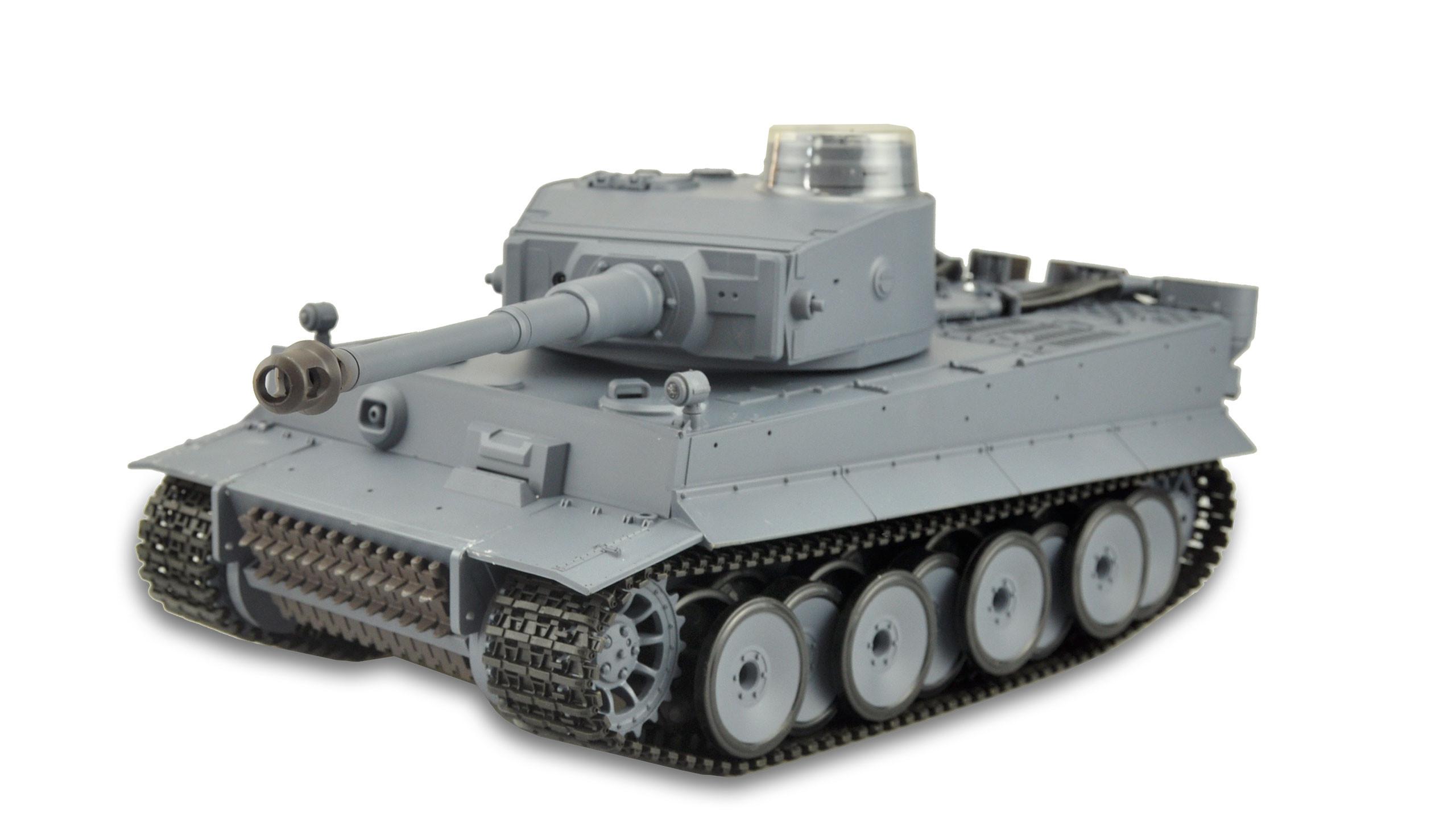 Amewi 23059 - Funkgesteuerter (RC) Panzer - Elektromotor - 1:16 - Betriebsbereit (RTR) - Grau