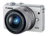 EOS M100 SLR-Kamera-Set 24.2MP CMOS 6000 x 4000Pixel Weiß