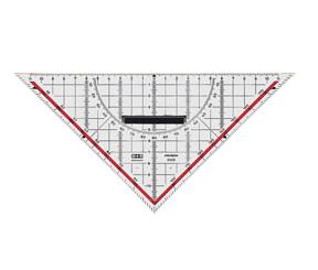 Möbius   Ruppert 2332 - 0000 - Dreieck - Schwarz - Rot - Weiß - Polystyrene - 32 cm