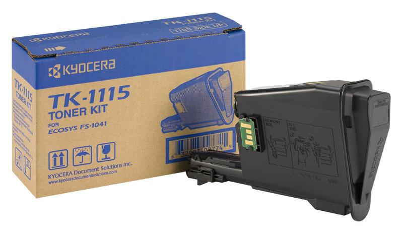 Kyocera TK 1115 - Schwarz - Original