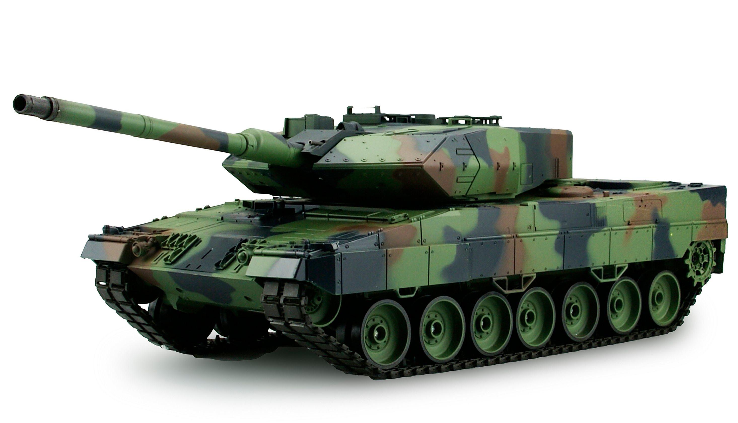 Amewi 23034 - Funkgesteuerter (RC) Panzer - 1:16 - Betriebsbereit (RTR) - Camouflage - 2,4 GHz
