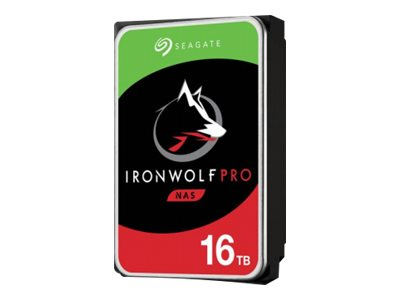"Seagate IronWolf Pro ST16000NE000 - Festplatte - 16 TB - intern - 3.5"" (8.9 cm)"