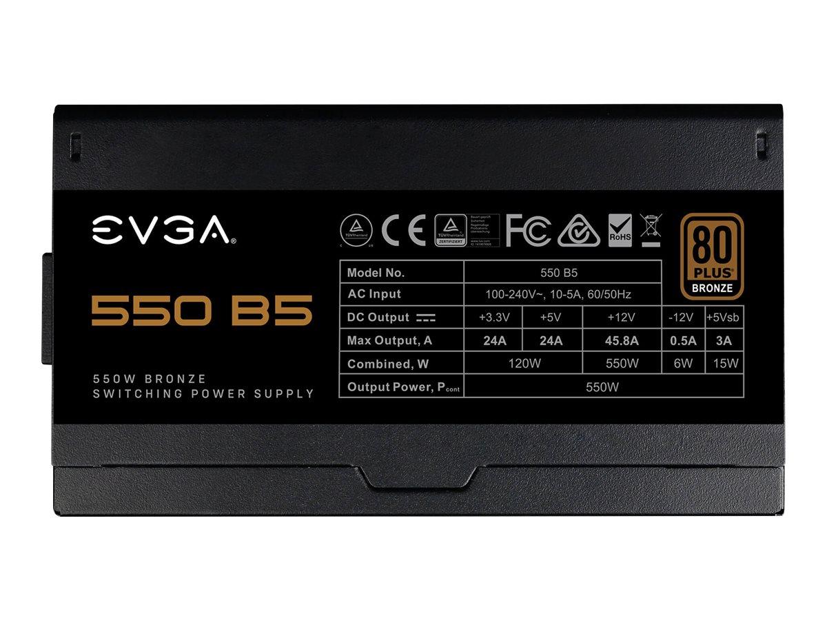 EVGA 550 B5 - Stromversorgung (intern) - ATX12V / EPS12V
