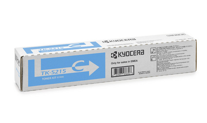 Kyocera TK 5215C - Cyan - Original