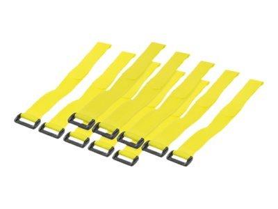 LogiLink Kabelbinder - 30 cm - Gelb (Packung