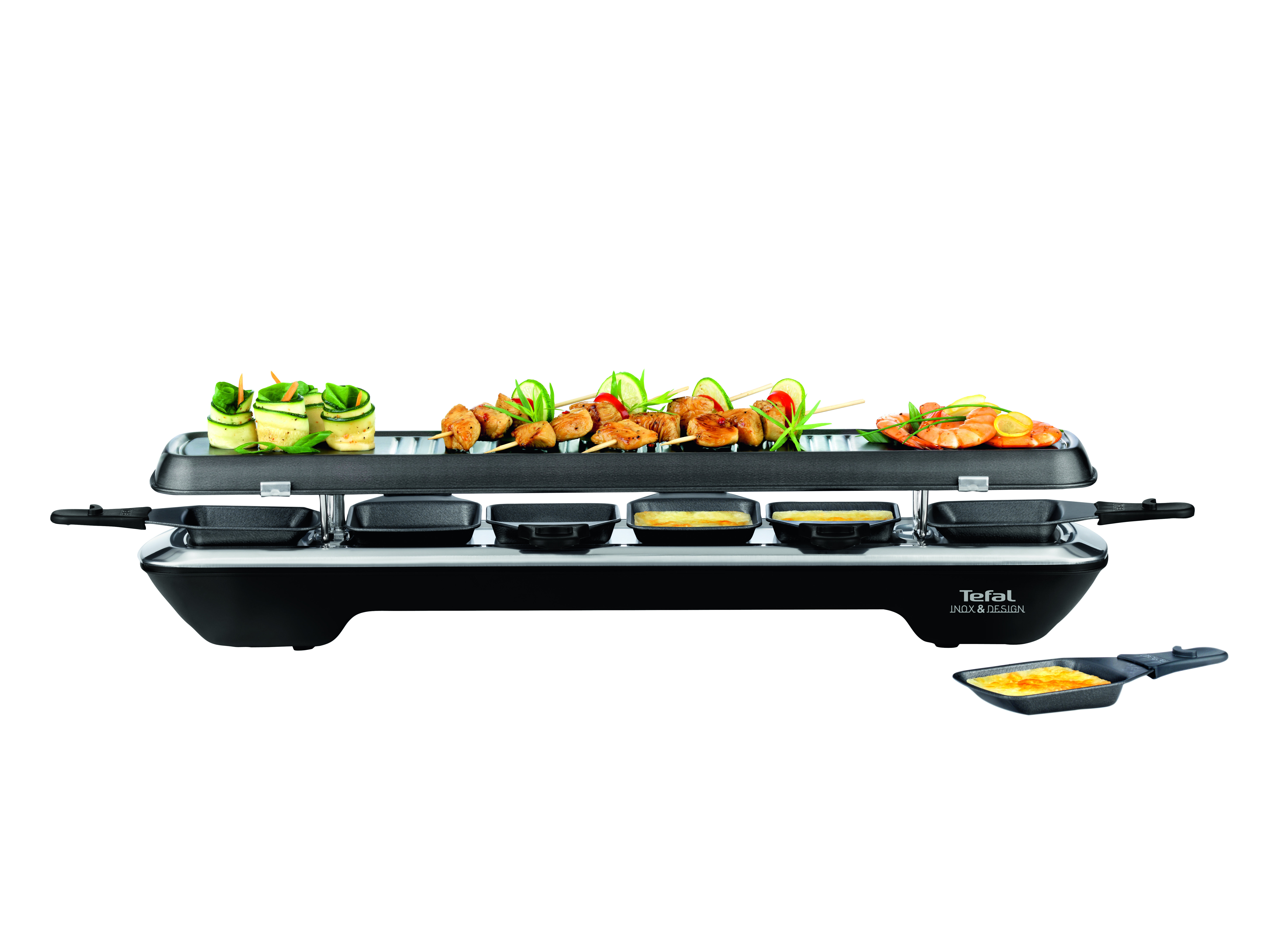 TEFAL-RE5228-Simply-Line-Inox-amp-Design-Black-Stainless-steel-1050-W-Marketing thumbnail 2