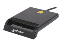 102049 Smart-Card-Lesegerät Innenraum Schwarz USB 2.0