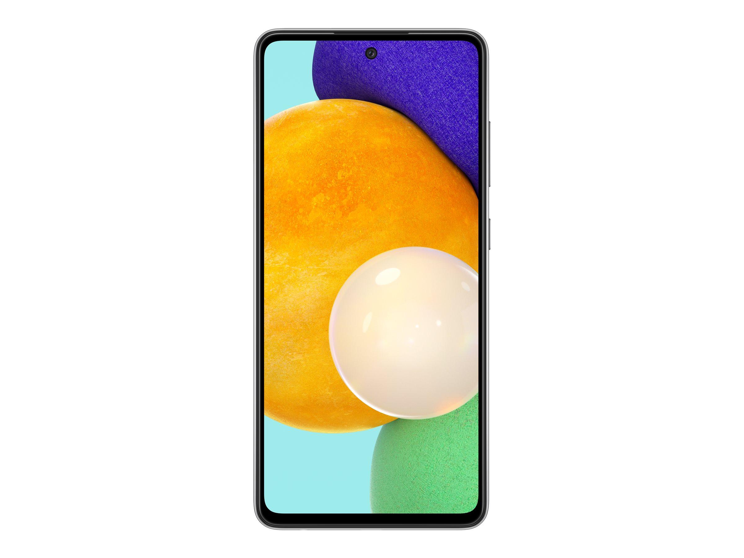 "Vorschau: Samsung Galaxy A52 5G - Smartphone - Dual-SIM - 5G NR - 128 GB - microSD slot - 6.5"" - 2400 x 1080 Pixel - Super AMOLED - RAM 6 GB (32 MP Vorderkamera)"