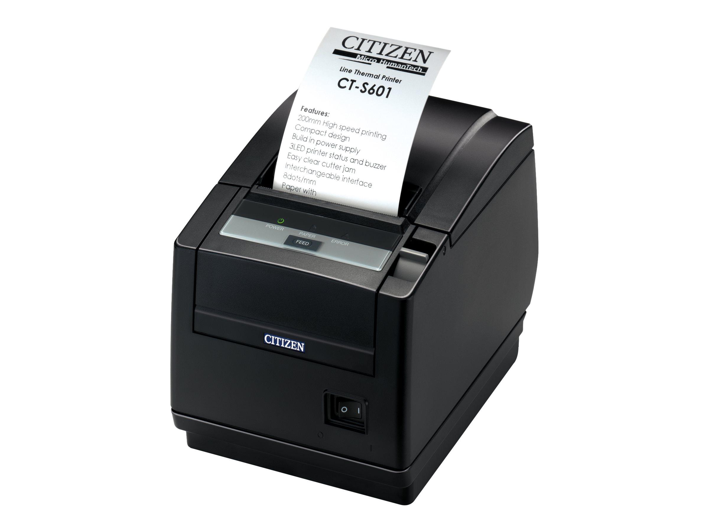 Citizen CT-S601II - Belegdrucker - Thermopapier - Rolle (8,25 cm)