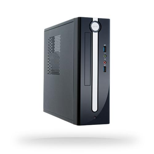 Chieftec FI-01B-U3-300 - Niederprofil (superflach) - PC - SECC - Schwarz - Mini-ITX - Heimbüro