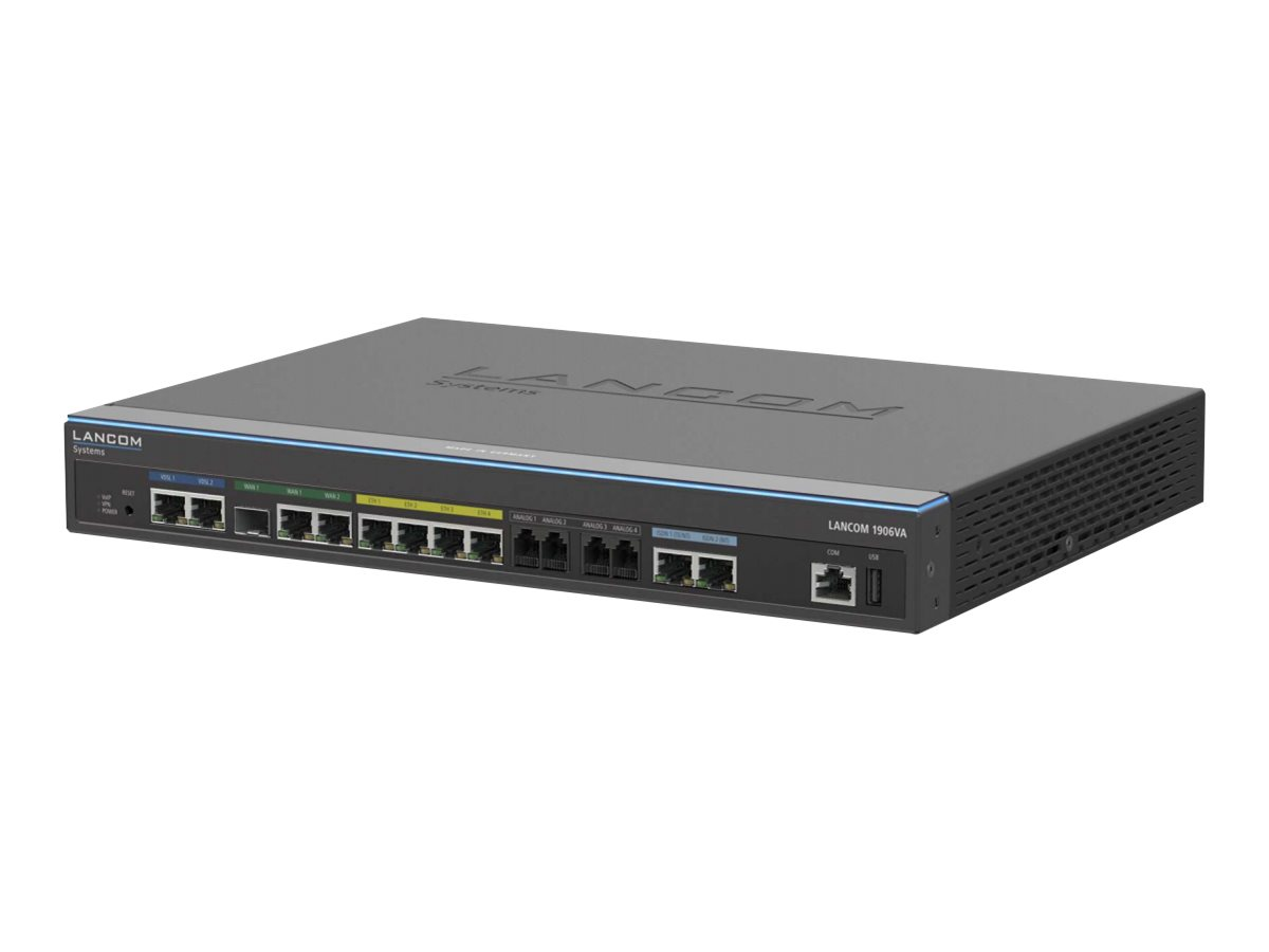Lancom 1906VA - Router - ISDN/DSL - 4-Port-Switch