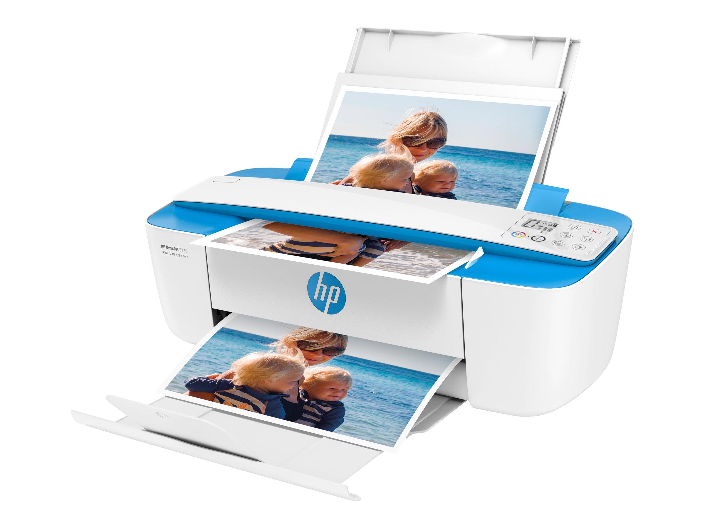 HP Deskjet 3760 All-in-One - Multifunktionsdrucker - Farbe - Tintenstrahl - 216 x 355 mm (Original)